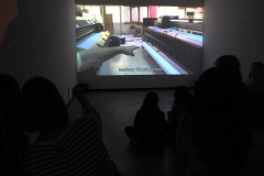The Atelier installation, 2018, Protocinema at Proyecto Amil, Lima with support of SAHA
